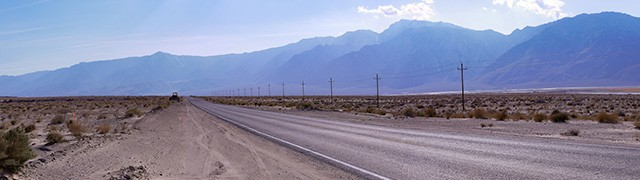 Highway 190, between Bakersfield and Death Valley National Park
