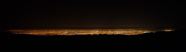 A view from the Lick Observatory