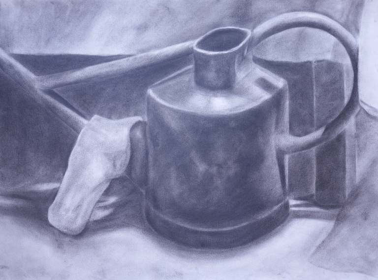charcoal drawing life