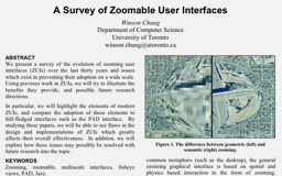 csc 428 survey of zoomable user interfaces zui